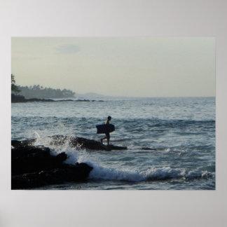 Kona Wakeboarding Print
