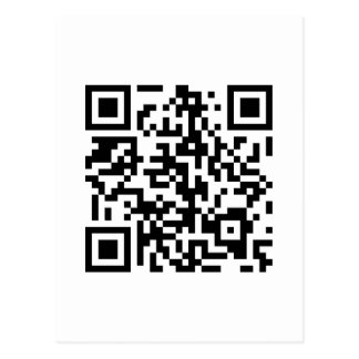 Konami Code QR code Postcard