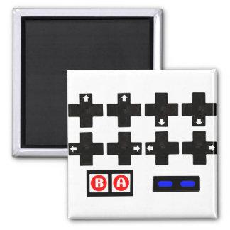Konami Contra Code 2 Inch Square Magnet