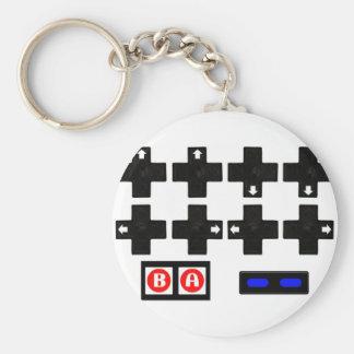 Konami Contra Code Keychain