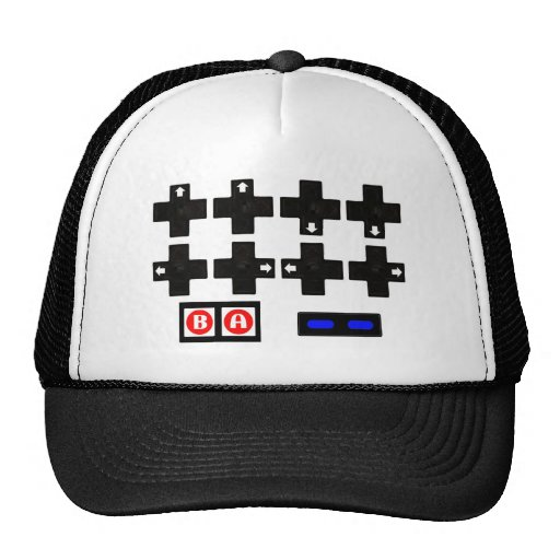 Konami Contra Code Trucker Hat