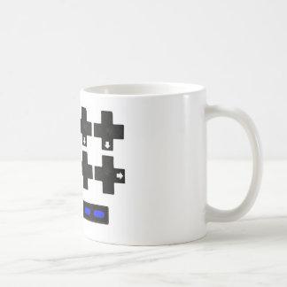 Konami contra código taza de café