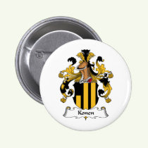 Konen Family Crest Button