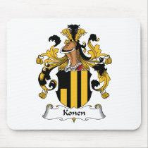 Konen Family Crest Mousepad