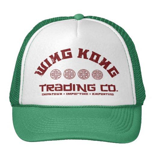 kong del ala que negocia el co. problema grande en gorra