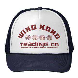 kong del ala que negocia el co problema grande en gorras de camionero