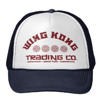 kong del ala que negocia el co. problema grande en gorras