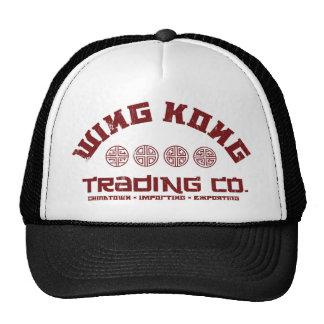 kong del ala que negocia el co. problema grande en gorras de camionero