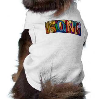 KONG ~ PERSONALIZED LRGLETTER~ PET-WARE FOR DOGS! SHIRT