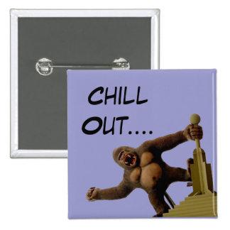 Kong Pinback Button