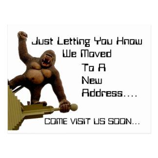 Kong Postcard