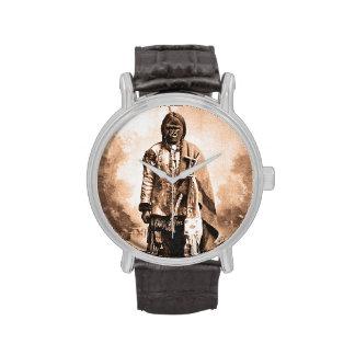 Kong que se sienta reloj