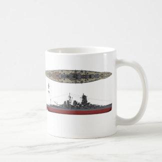 Kongo and Battleship Coffee Mug
