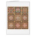 Kongokai Mandala Card