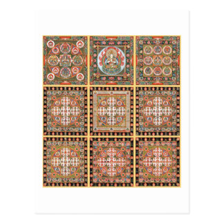 Kongokai Mandala Postcard