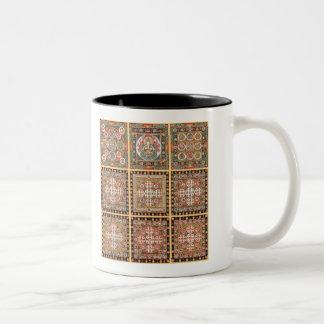 Kongokai Mandala Two-Tone Coffee Mug