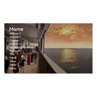Konig Albert* Promenade Deck, North German Lloyd, Double-Sided Standard Business Cards (Pack Of 100)