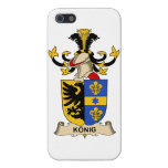 König Family Crest Cover For iPhone 5