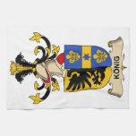 König Family Crest Towels