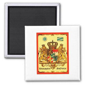 Königreich Bayern ~ Vintage Coat of Arms Magnet