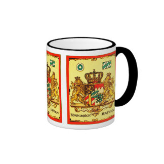 Königreich Bayern ~ Vintage Coat of Arms Coffee Mug