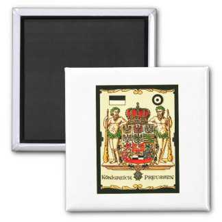 Königreich Preussen ~ Vintage Coat of Arms Print Magnet