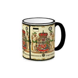 Königreich Preussen ~ Vintage Coat of Arms Print Coffee Mug