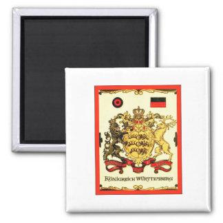 Königreich Württemberg ~ Vintage Coat of Arms Magnet