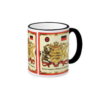 Königreich Württemberg ~ Vintage Coat of Arms Coffee Mug