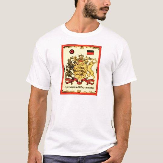 Königreich Württemberg ~ Vintage Coat of Arms T-Shirt