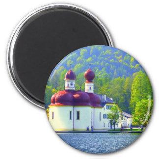 Königsee St Bartholomä Fridge Magnets
