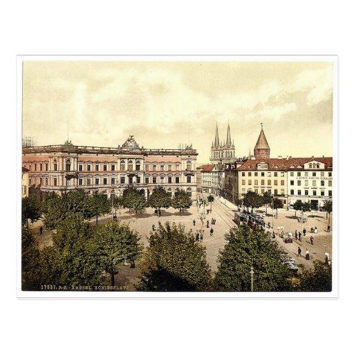 Konigsplatz, Cassel (es decir, Kassel), Postales