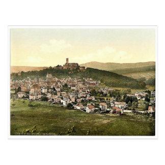 Konigstein en el Taunus, Frankfort en la tubería ( Postales