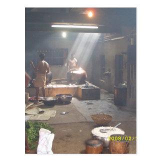 Konkani cooking postcard