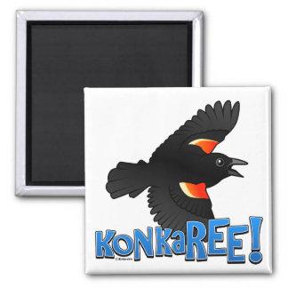 ¡KonkaREE! Imán Cuadrado