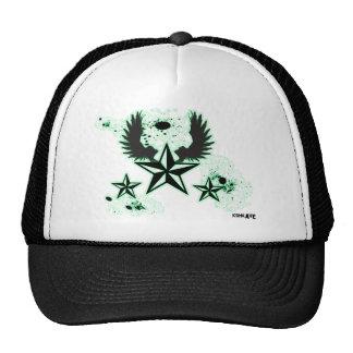 Konkave  Green stars & Wings Trucker Hat