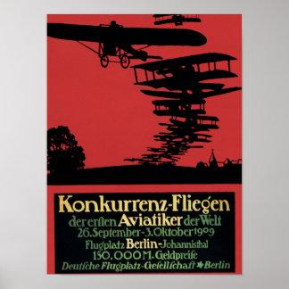 Konkurrenz-Fliegen Airfield Promotional Poster