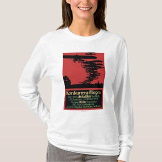 Konkurrenz-Fliegen Airfield Promotional Poster T-Shirt