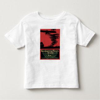 Konkurrenz-Fliegen Airfield Promotional Poster Toddler T-shirt