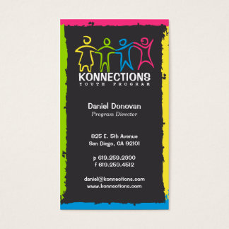 Konnections Youth Program Nonprofit Business Card