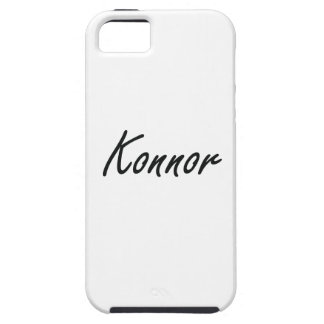 Konnor Artistic Name Design iPhone 5 Cases