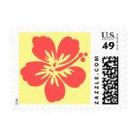 Kono Hibiscus Tropical Postage Stamps
