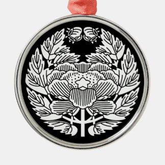 Konoe botan metal ornament