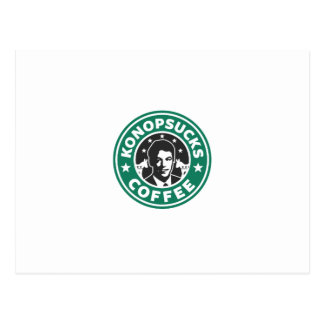 Konop Coffee Postcard