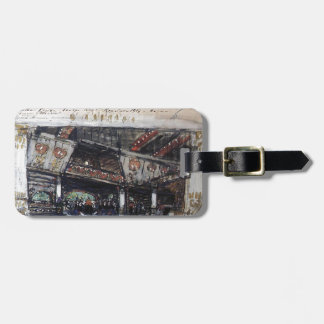 Konstantin Korovin- At a noblewoman Travel Bag Tags