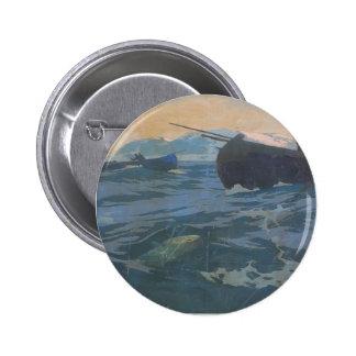 Konstantin Korovin- Fishing on Murman Sea Pin