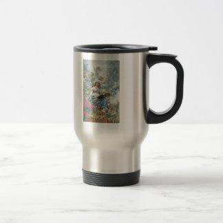Konstantin Makovsky- The Muse of Poesie 15 Oz Stainless Steel Travel Mug