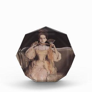 Konstantin Somov- Lady in Pink Acrylic Award