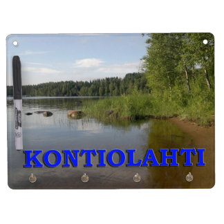 Kontiolahti Dry Erase Board With Keychain Holder
