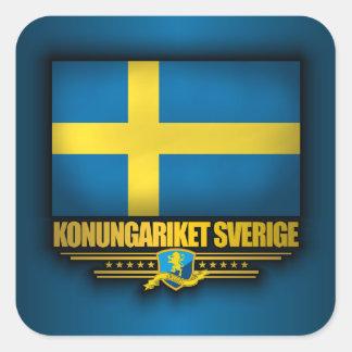Konungariket Sverige Square Sticker